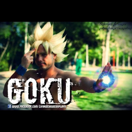 A fan edited this for me. Photography by @steve120782   #goku #cosplay #cosplayer #dbz #dragonball #dragonballz