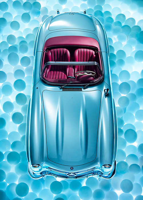 timewastingmachine:  300 SL Calendar 2013 Rene Staud Photography