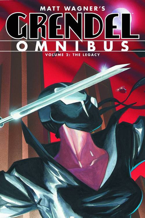 Market Monday Grendel Omnibus vol. 2: The Legacy TP, co-written by Diana Schutz  The legacy of Hunter Rose lives on through the tortured life of Rose's adopted daughter Stacy, and once again finds full bloom in Stacy's own daughter Christine Spar. Reviving Grendel's reign of terror, Spar leads the way for its murderous identity to claim more hosts, each more powerful than the last, and more malicious! This volume also contains Wagner's return as writer and artist, in a series of groundbreaking stories looking back on the career of Hunter Rose. Collects Devil Tales, Devil Child, Devil's Legacy, and The Devil Inside trade paperbacks.  Shopping Options Amazon IndieBound TFAW