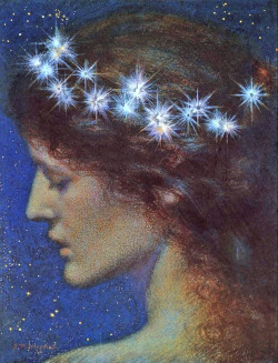 arthistorianmindswirls:  Edward Robert Hughes, Night