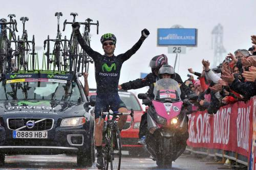 Giro d'Italia 2013 | Stage 15 A win in the snow on the Col du Galibier for Giovanni Visconti. (via Facebook)