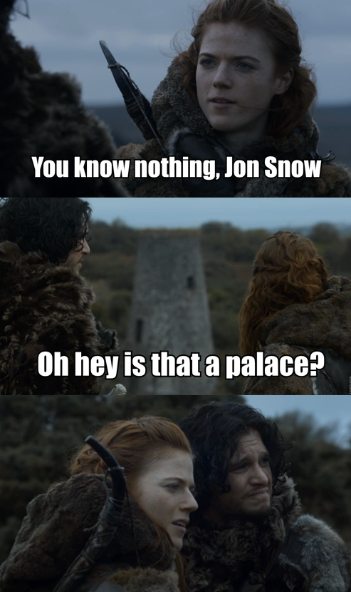 420blazeitmisfire:  Turns out Ygritte is kind of a hypocrite. Still got dat ass tho