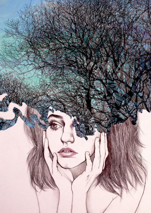 "doloresdepalabra:  ""Scatterbrain"" Kate Powell / On tumblr"