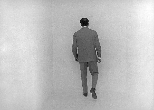 blue-voids:  Yves Klein - The Void (Empty Room), 1961
