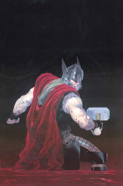 Happy THORsday, everyone! This week's Thor is a far more recent one and is brought to us by Esad Ribic.