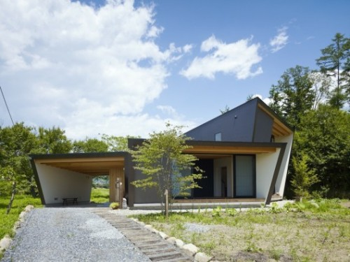 Yatsugatake Villa by MDS, Japan