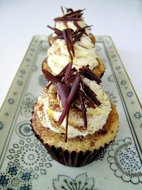 awkwardcupcake:  Tiramisu Cupcakes by jamieanne on Flickr.