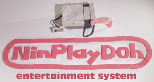 NinPlayDoh [Click to watch] Claymation and Nintendo were meant for each other.