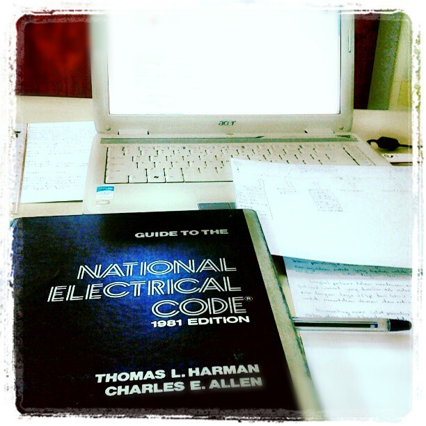 Early task at work.. #electrical #engineering #nationalcode by firstian89 http://instagr.am/p/VnyVp0M_UT/