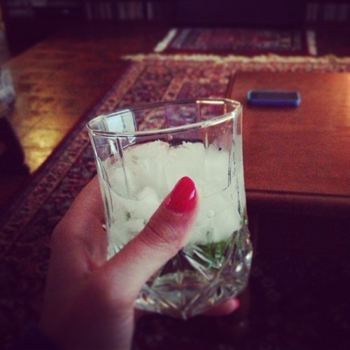 Sipping mojitos (dad's specialty) & watching James Bond. Not a bad Sunday in home sweet Houston. (at Houston, TX)