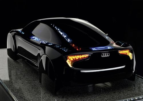 fullthrottleauto:  Audi shows off OLED-illuminated concept R8