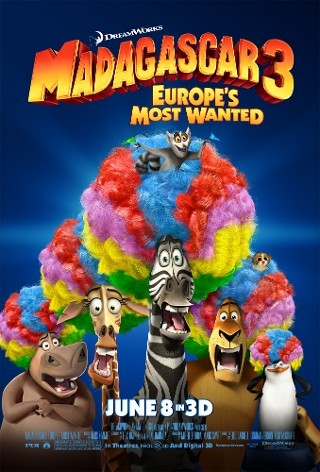 I'm watching Madagascar 3: Europe's Most Wanted                        33 others are also watching.               Madagascar 3: Europe's Most Wanted on GetGlue.com