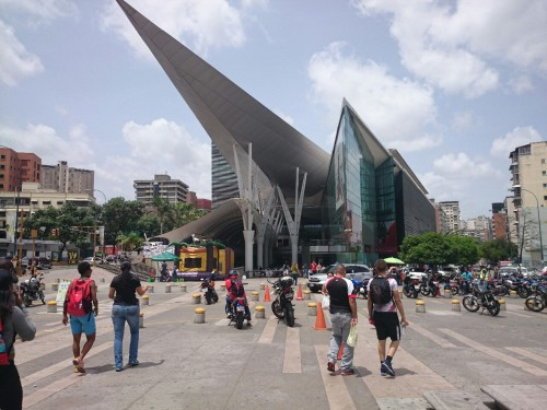 Millenium Mall in Venezuela.