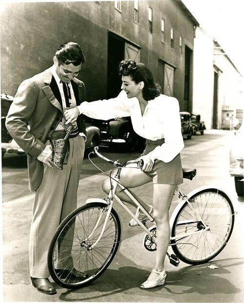 The chemistry 💗…Joan Crawford & Clark Gable