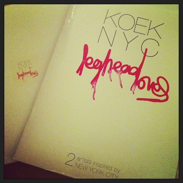 Limited edition self published #photographer #RichardKoek #leghead #loves proceeds donated to #meremistinternational #photography #nyc #soho #sidiabdul #artists #givingback #philanthropy