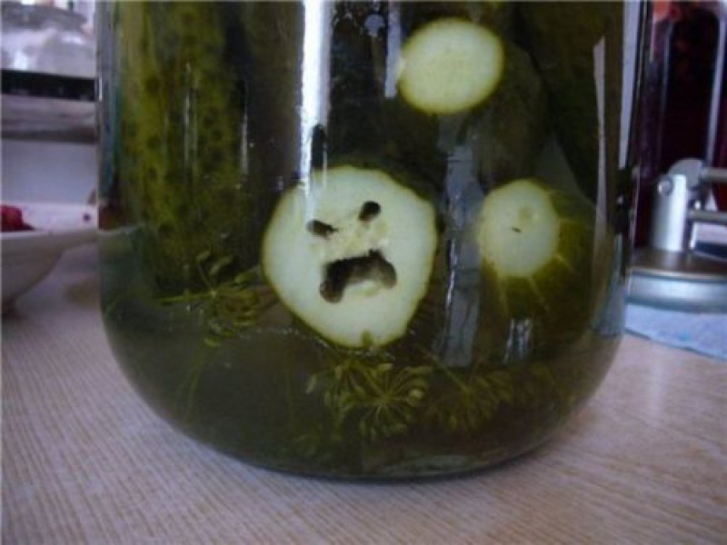 collegehumor:  This Pickle is So Angry Looks like someone is a little sour today.