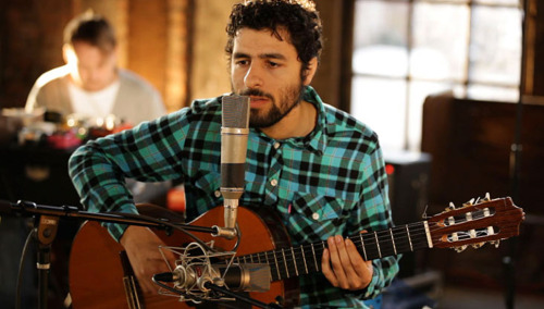"José González, also of Junip. Junip's brand new album Junip is out TODAY (4/23) on Mute Records! Check out ""Your Life Your Call"" -the second single from Junip - below:   (photo via MTV IGGY)"