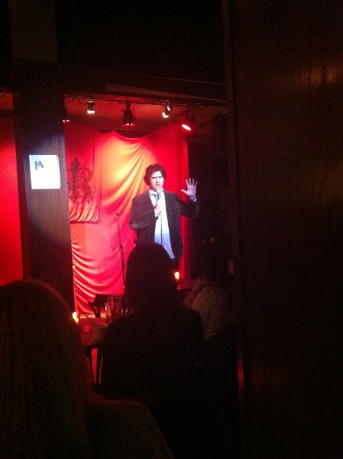Favorite Things of Last Night: Brendan Lynch @ Cafe Royale/Monday Happy Hour Comedy