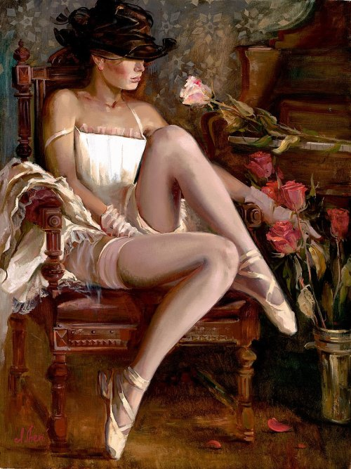 pinupgirlsart:  (via Irene Sheri: Pin Up and Cartoon Girls)