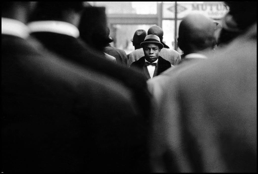 Nation of Islam, Harlem, 1966. By Roger Malloch.