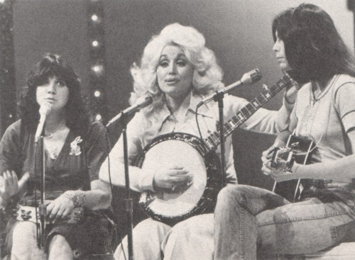 Dolly Parton, Emmylou Harris, and Linda Ronstadt - 1976