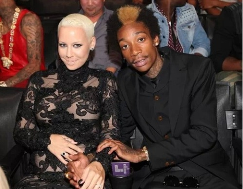 Oh good. Amber Rose and Wiz khalifa have put our minds to rest by letting us know that Rose will have a natural water birth and Wiz will make sure his kid knows all about pot. Now, we can all rest easy….