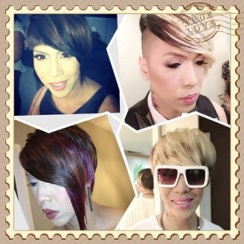#viceganda wearing #keirahairextensions #clipons @praybeytbenjamin @vicegandako !Thanks @buernrodriguez & @praybeytbenjamin for always having #keira + #lynellehair for your #trendsetting #hairstyles! #throwbackthursday love & kisses