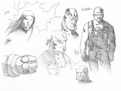 Hellboy & the B.P.R.D Plus Savage Dragon.
