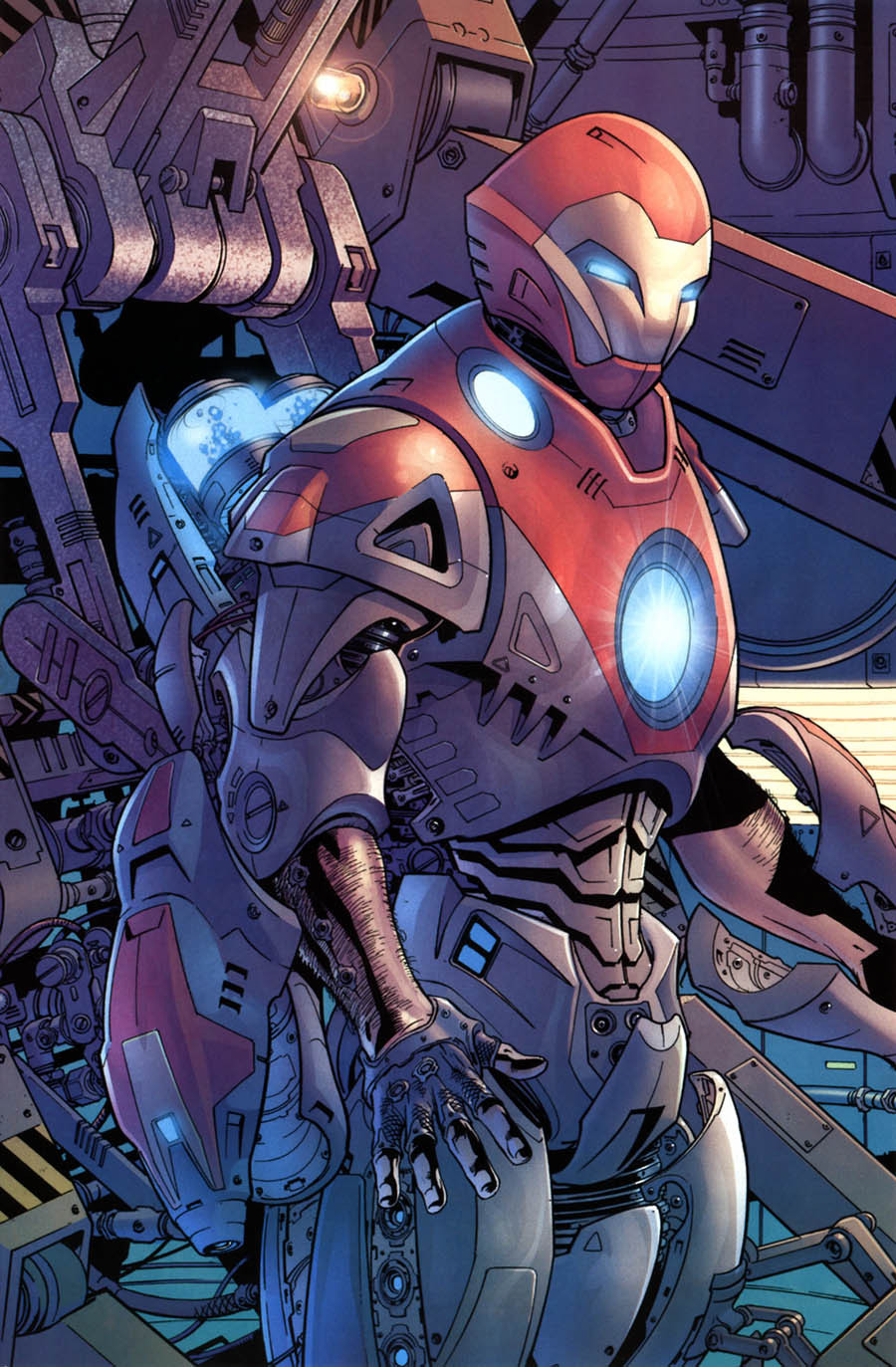 Iron Man, por Bryan Hitch