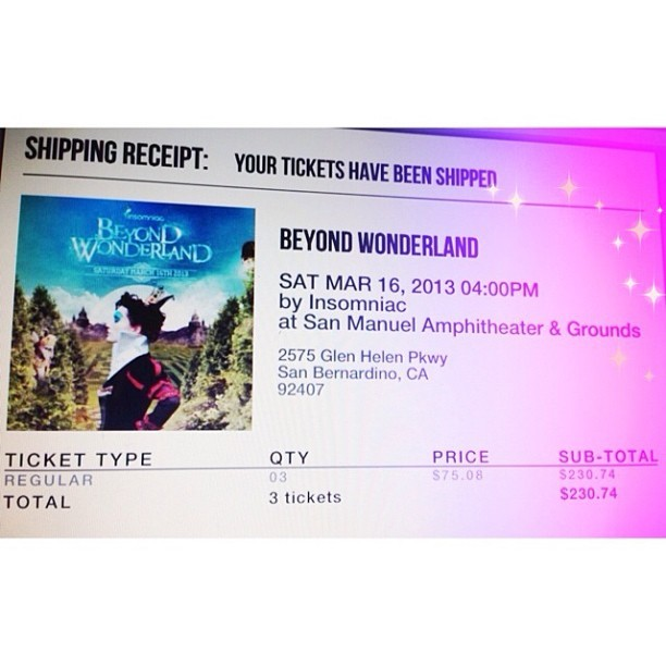 See you there :* #beyondwonderland