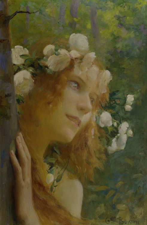 23silence:  Gaston Bussière - Nymph, 1941