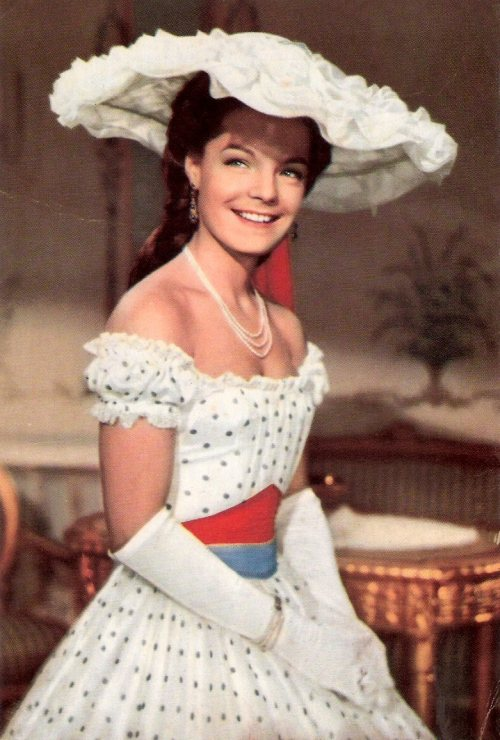 the-garden-of-delights:  Romy Schneider as Empress Elisabeth 'Sissi' of Austria in Sissi (1955).