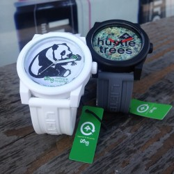 "ironlaklosangeles:  Lrg ""Nuggs"" & ""Panda""  Icon Series Watches have just come in and are available in store and online at www.ironlaklosangeles.com"