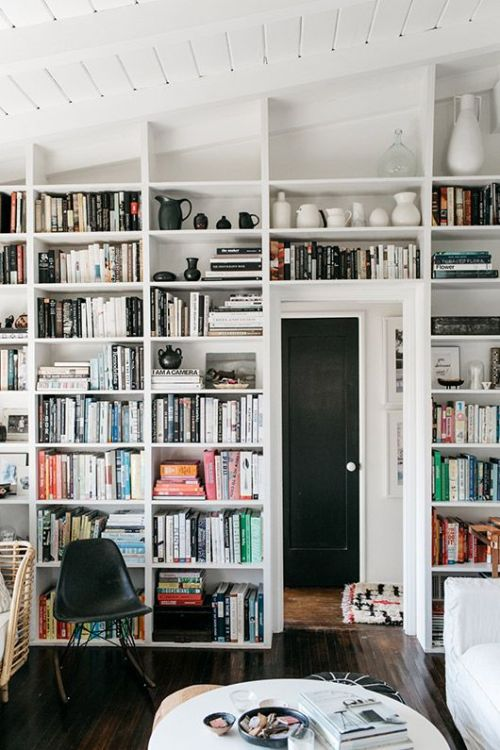 Bookshelf on tumblr Bookshelves in bedroom ideas