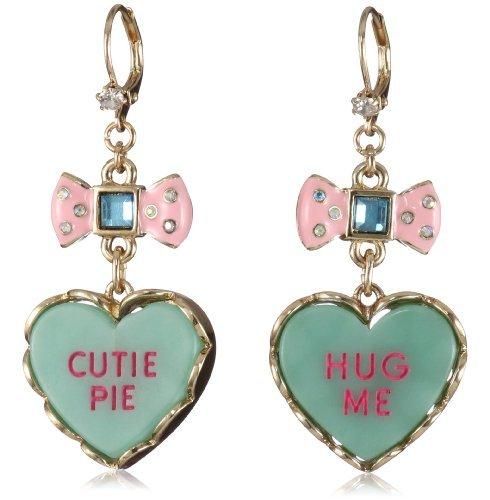 What: Betsey Johnson Candyland tart earrings Where: Betseyjohnson.com