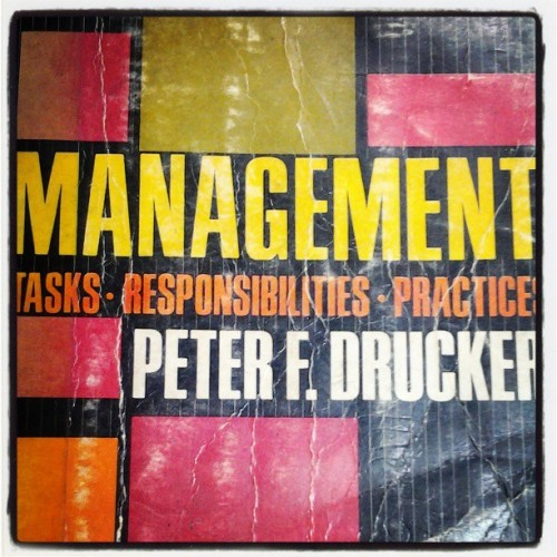 Something to read before sembreak officially ends. :-) #management #book #peterdrucker #bookworm #read #hobby #interest  (at Planning and Development Office, LGU Mangaldan)
