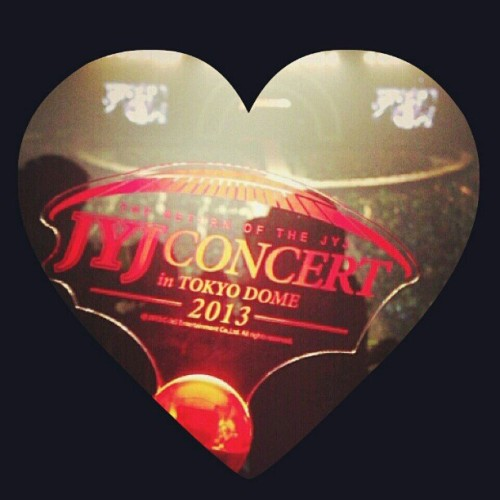 sojunari:  #firstday #jyjbackjapan #tokyodome #yesterday #♡