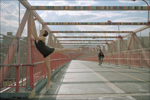 The Ballerina ProjectAlessandra - Williamsburg Bridge