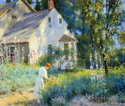 labellefilleart:   Morning Sunshine, Edward Dufner