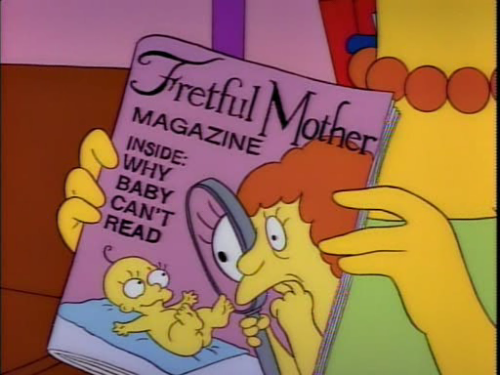 According to Fretful Mother Magazine, if Maggie doesn't talk by age one we should consider a corrective tongue extender.