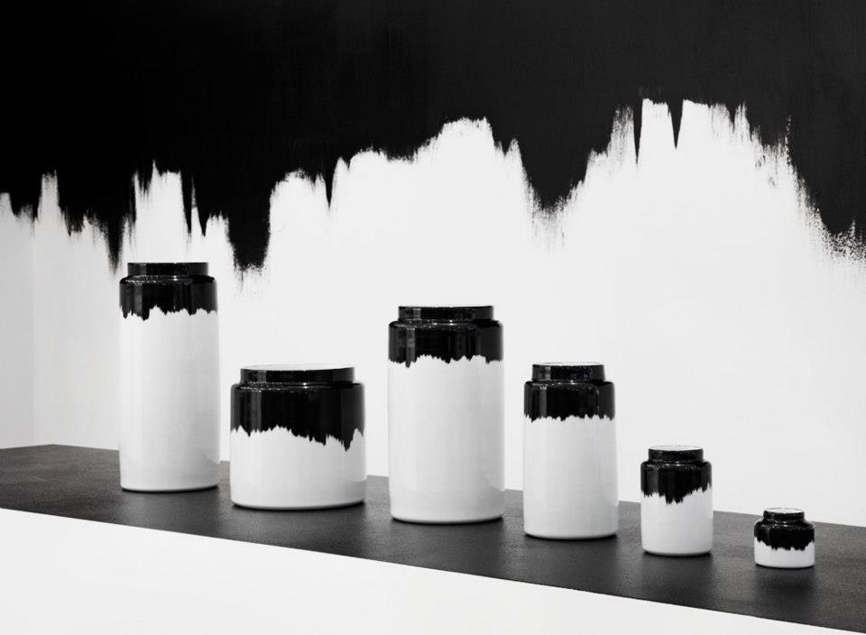 Black & White Vessels