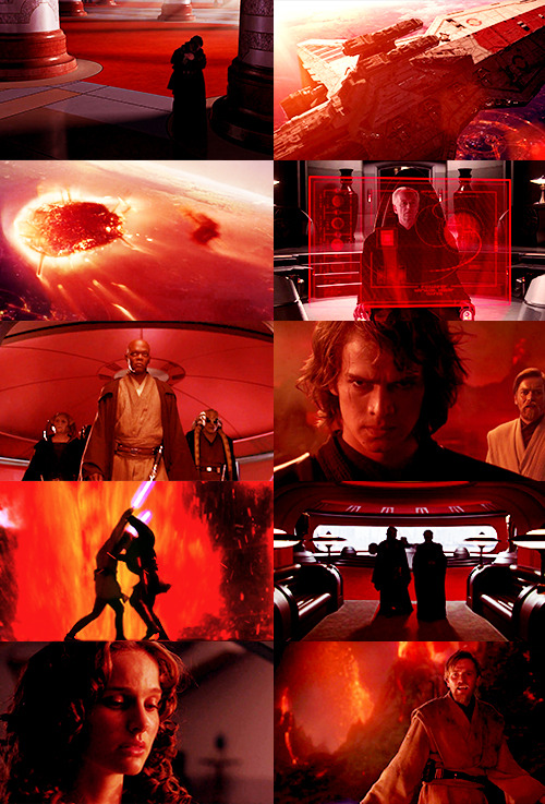 revenge of the sith & red