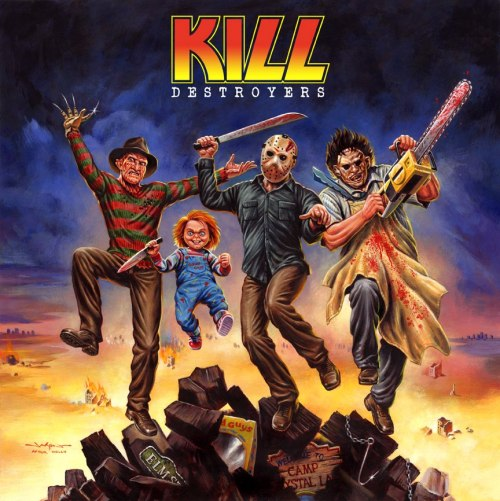redskullsmadhouse:   KILL DESTROYERS Jason Edmiston