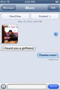distinctmemory:  disregardwomen:  When my mom's out in public, she sends me pictures of lesbians she sees.     Oh my god.