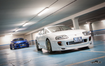 jdmlifestyle:  Supra or Skyline? Photo By: Oncle_John