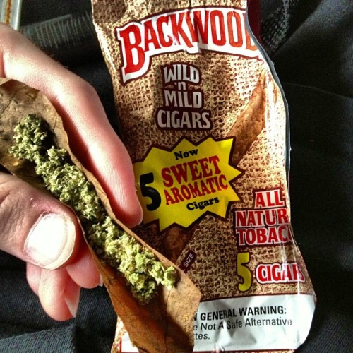 backwood in da back woods