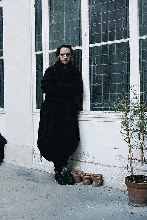 Damir Doma photographed by Estelle Hanania