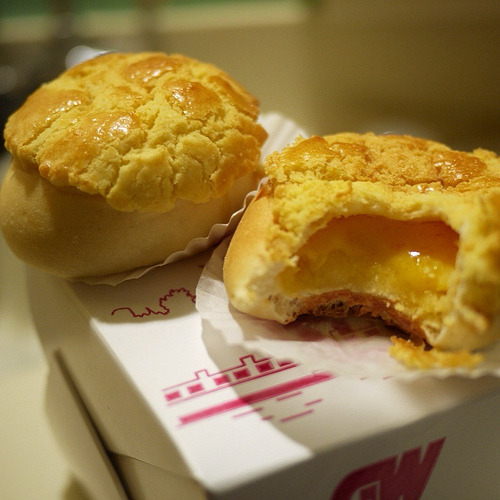Egg Custard BunPhoto via Flickr