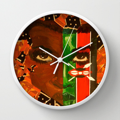 ethiopienne:vivaillajams:What time is it!Wall Clocks now available for sale:http://society6.com/jamillaokubo/wall-clocksEnjoy!OH MY GOODNESS I WANT THEM ALLLLLLL