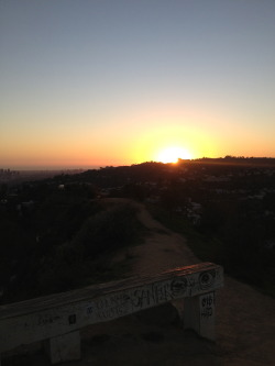 Runyon Canyon. Hollywood, CA